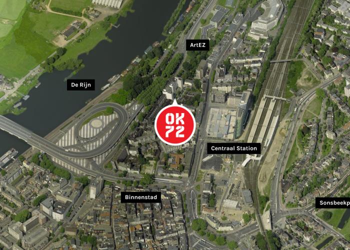 Toplocatie OK72 centrum Arnhem